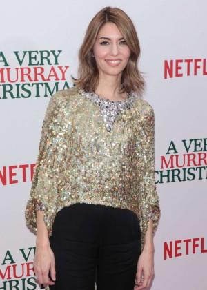 Sofia Coppola - 'A Very Murray Christmas' Screening in NYC