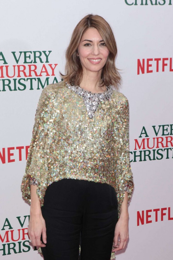 Sofia Coppola - 'A Very Murray Christmas' Screening in NYC