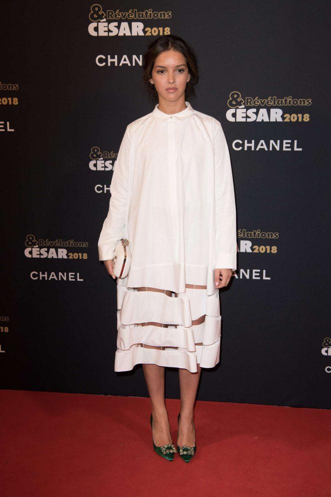 Sofia Djama - Cesar Revelations 2018 at Le Petit Palais in Paris