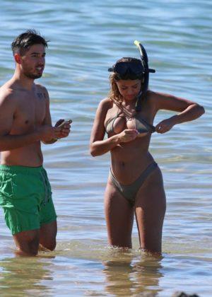 Sofia Jamora in Bikini on the beach in Maui Pic 10 of 35