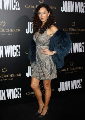 Sofia Milos - 'John Wick Chapter 2' Premiere in Los Angeles