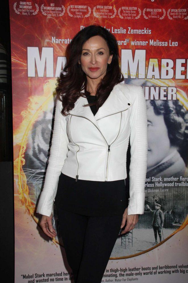 Sofia Milos – 'Mabel, Mabel, Tiger Trainer' Premiere in Los Angeles