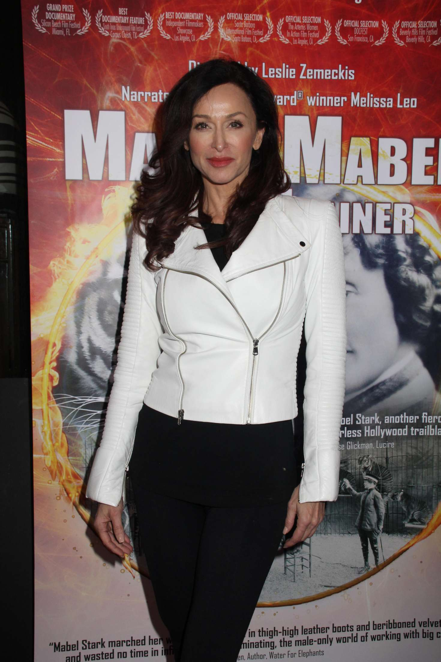 Sofia Milos - 'Mabel, Mabel, Tiger Trainer' Premiere in Los Angeles
