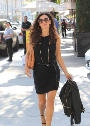 Sofia Milos out for lunch in Beverly Hills