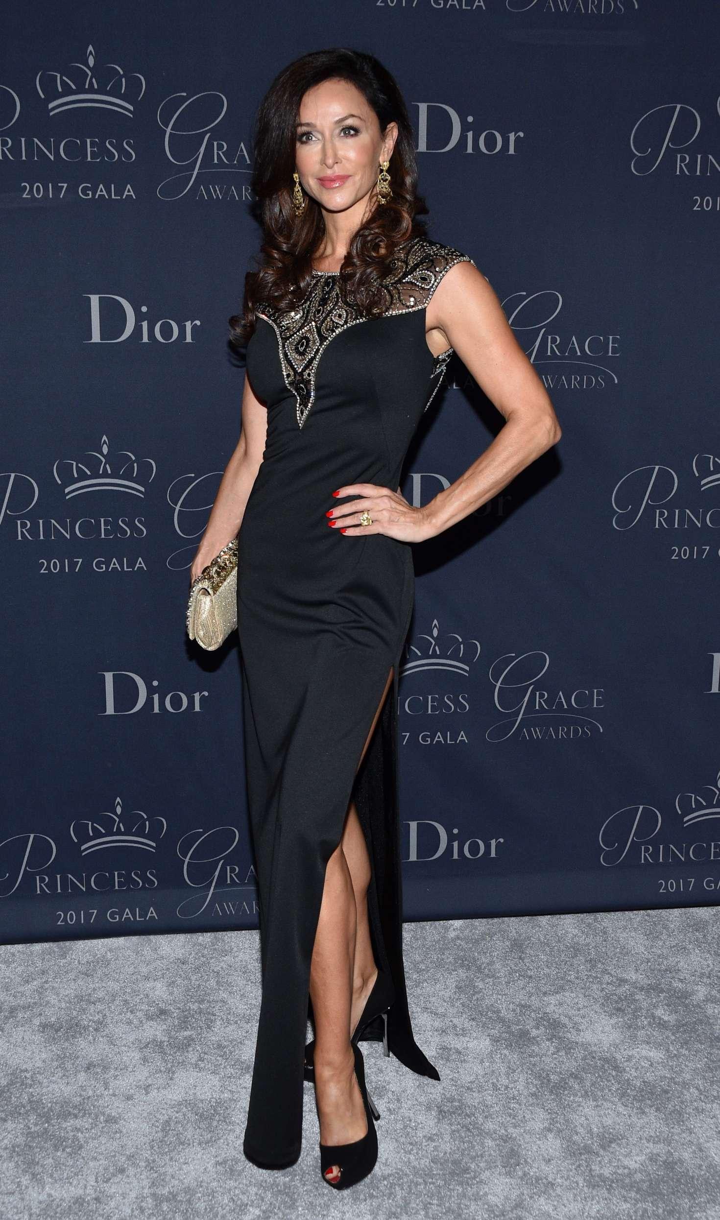 Sofia Milos 2017 : Sofia Milos: Princess Grace Awards Gala 2017 -02