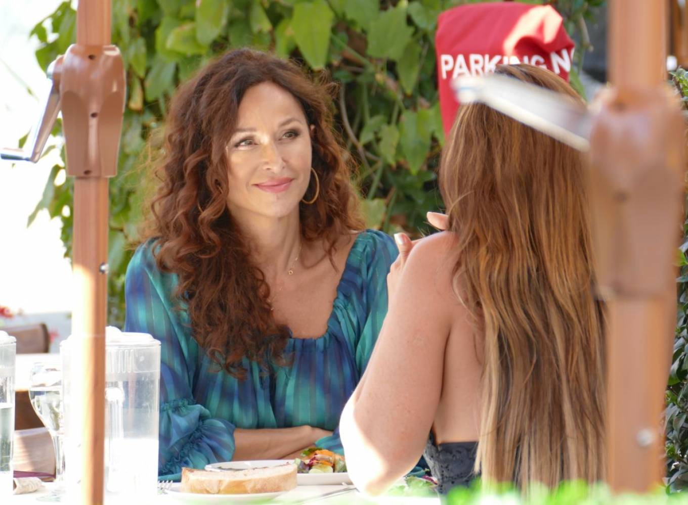 Sofia Milos 2020 : Sofia Milos – Seen at a Lunch With Female Friend-04