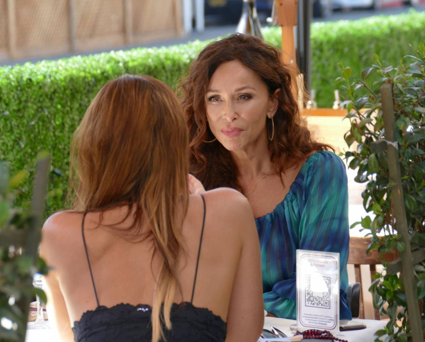 Sofia Milos 2020 : Sofia Milos – Seen at a Lunch With Female Friend-05