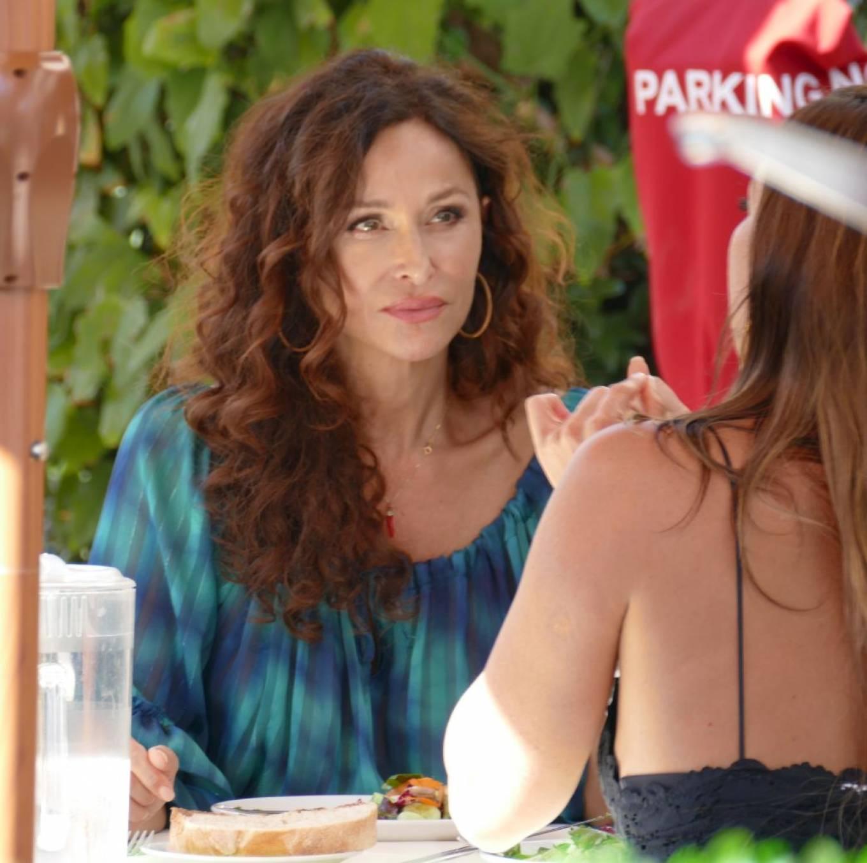Sofia Milos 2020 : Sofia Milos – Seen at a Lunch With Female Friend-08