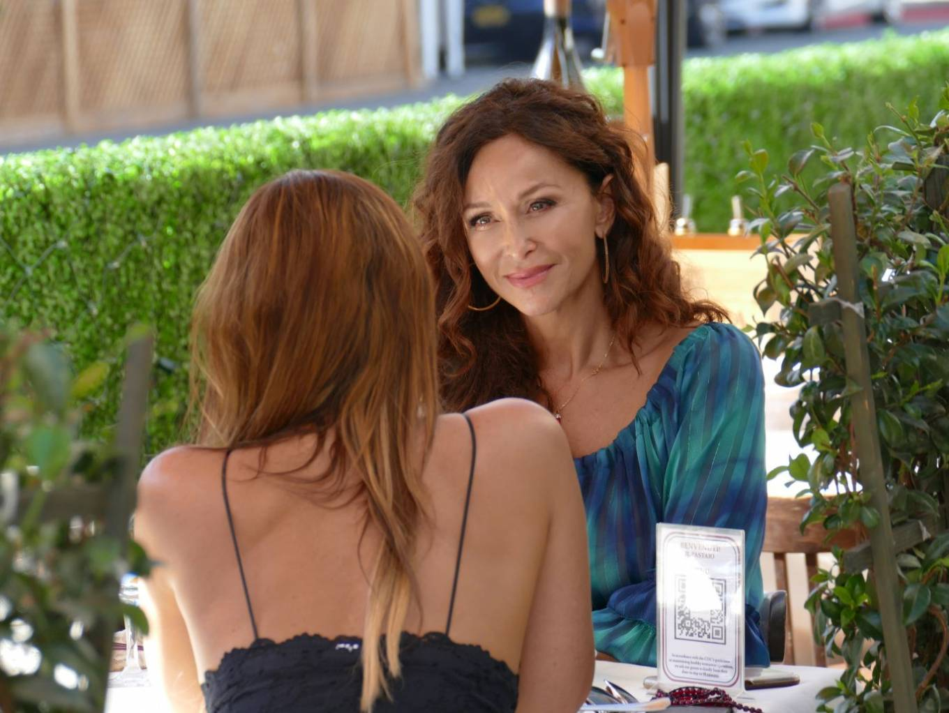 Sofia Milos 2020 : Sofia Milos – Seen at a Lunch With Female Friend-11