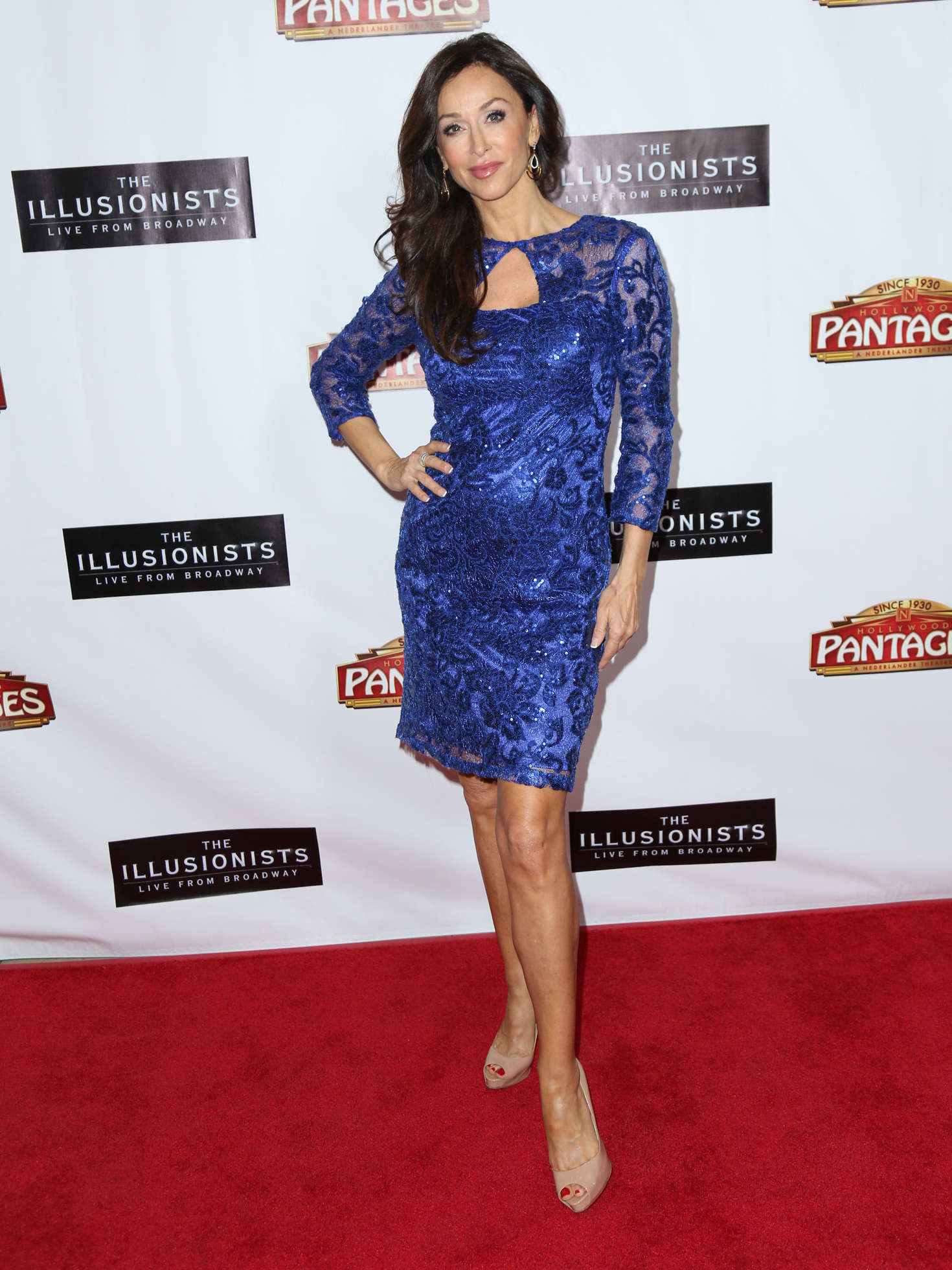 Sofia Milos - 'The Illusionists - Live From Broadway' Premiere in Los Angeles