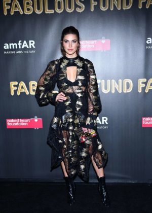 Sofia Resing - 2017 amfAR Fabulous Fund Fair in NYC