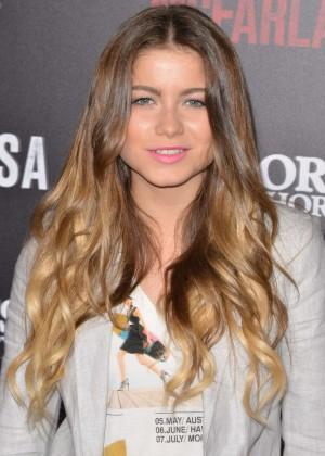 "Sofia Reyes - ""McFarland, USA"" Premiere in Hollywood"