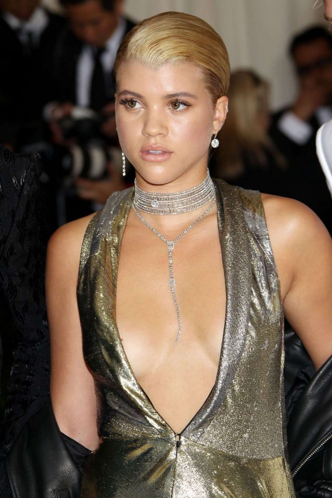 Sofia Richie - 2017 MET Costume Institute Gala in NYC
