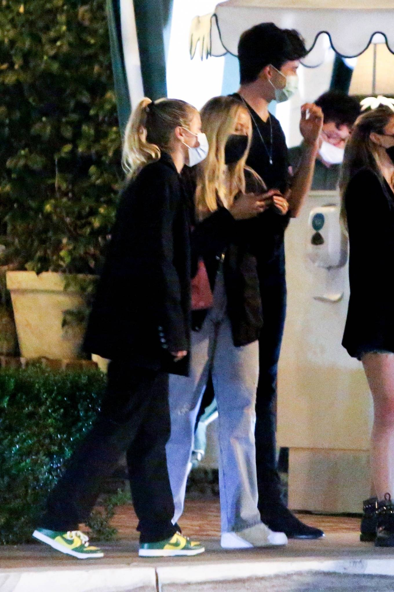 Sofia Richie and Jaden Smith - Spotted together in West Hollywood