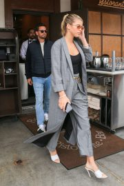 Sofia Richie and Scott Disick - Exit Il Pastaio in Beverly Hills