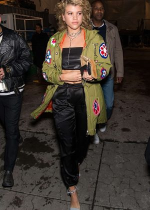 Sofia Richie - Arrives at Jeremy Scott Collection in New York
