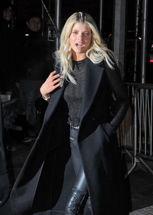 Sofia Richie Arriving at Rihanna And Puma's Fashion Week Event in New York