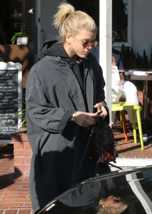 Sofia Richie at Alfred Coffee in West Hollywood