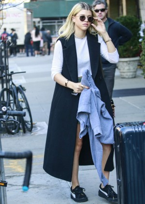 Sofia Richie at Bowery Hotel in New York City