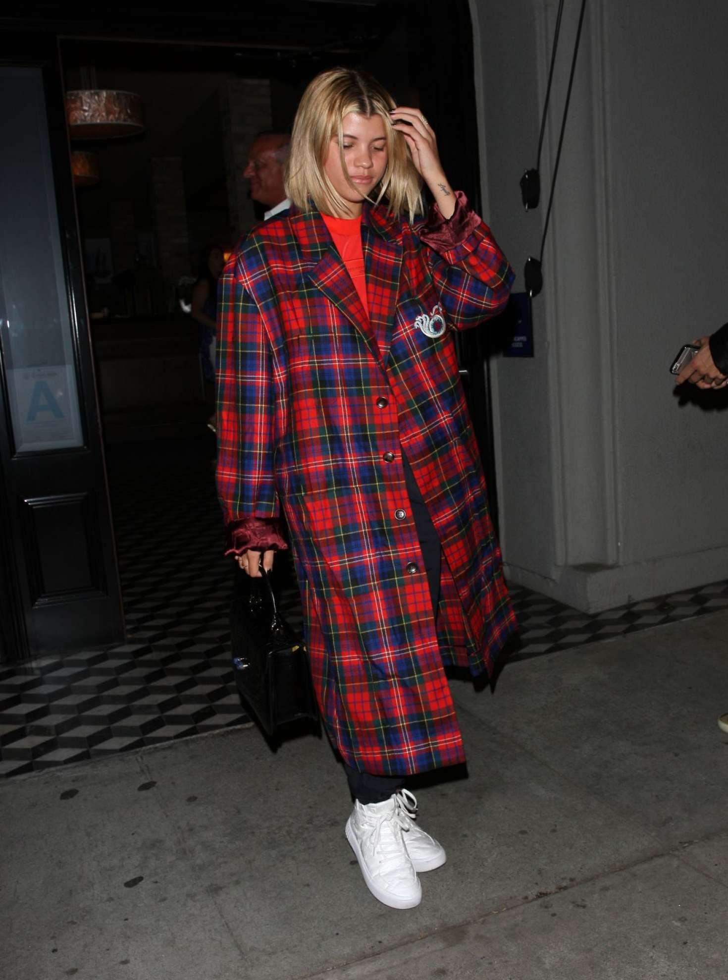 Sofia Richie at Craig's Restaurant in West Hollywood