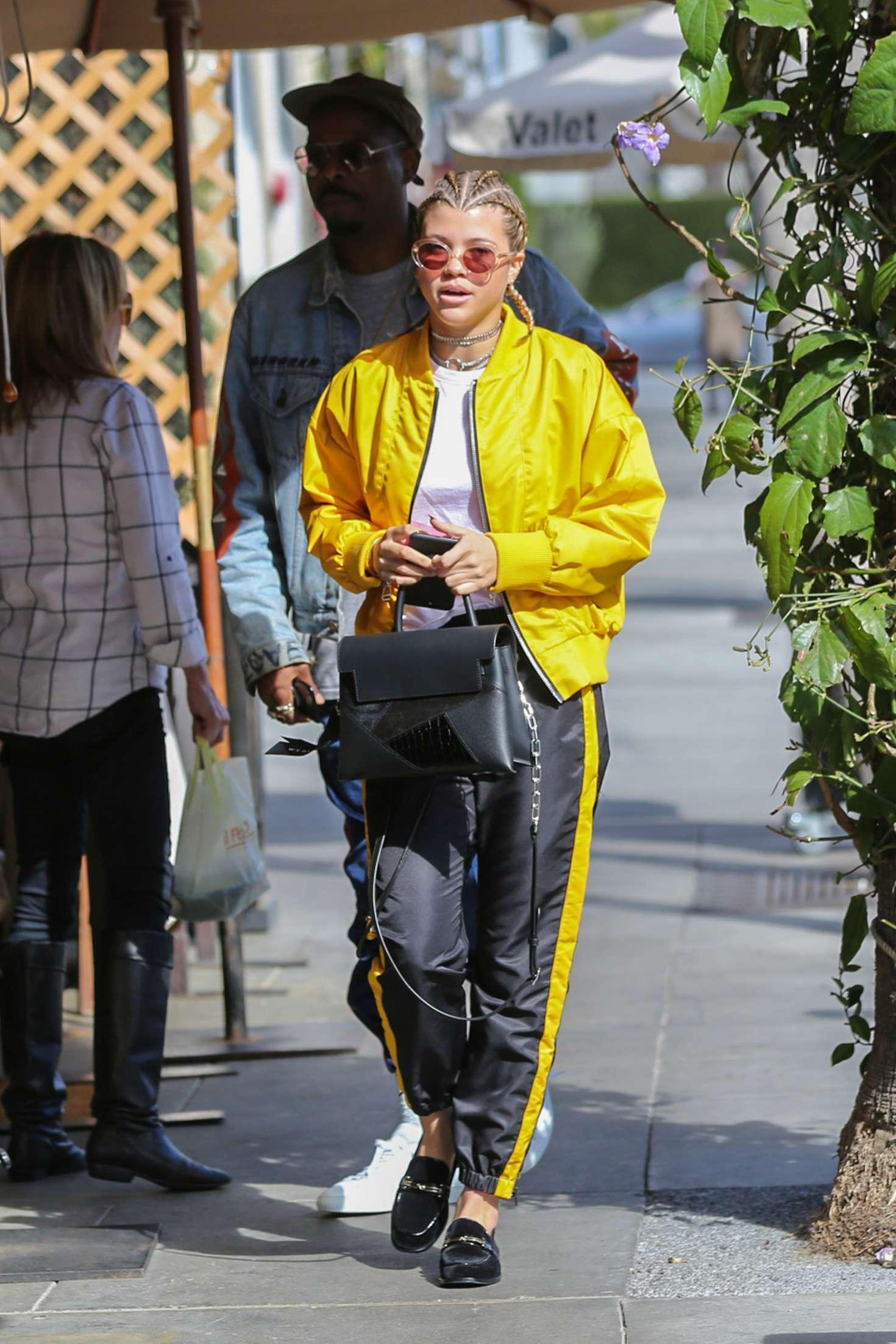 Sofia Richie 2017 : Sofia Richie at Il Pastaio in Beverly Hills -01