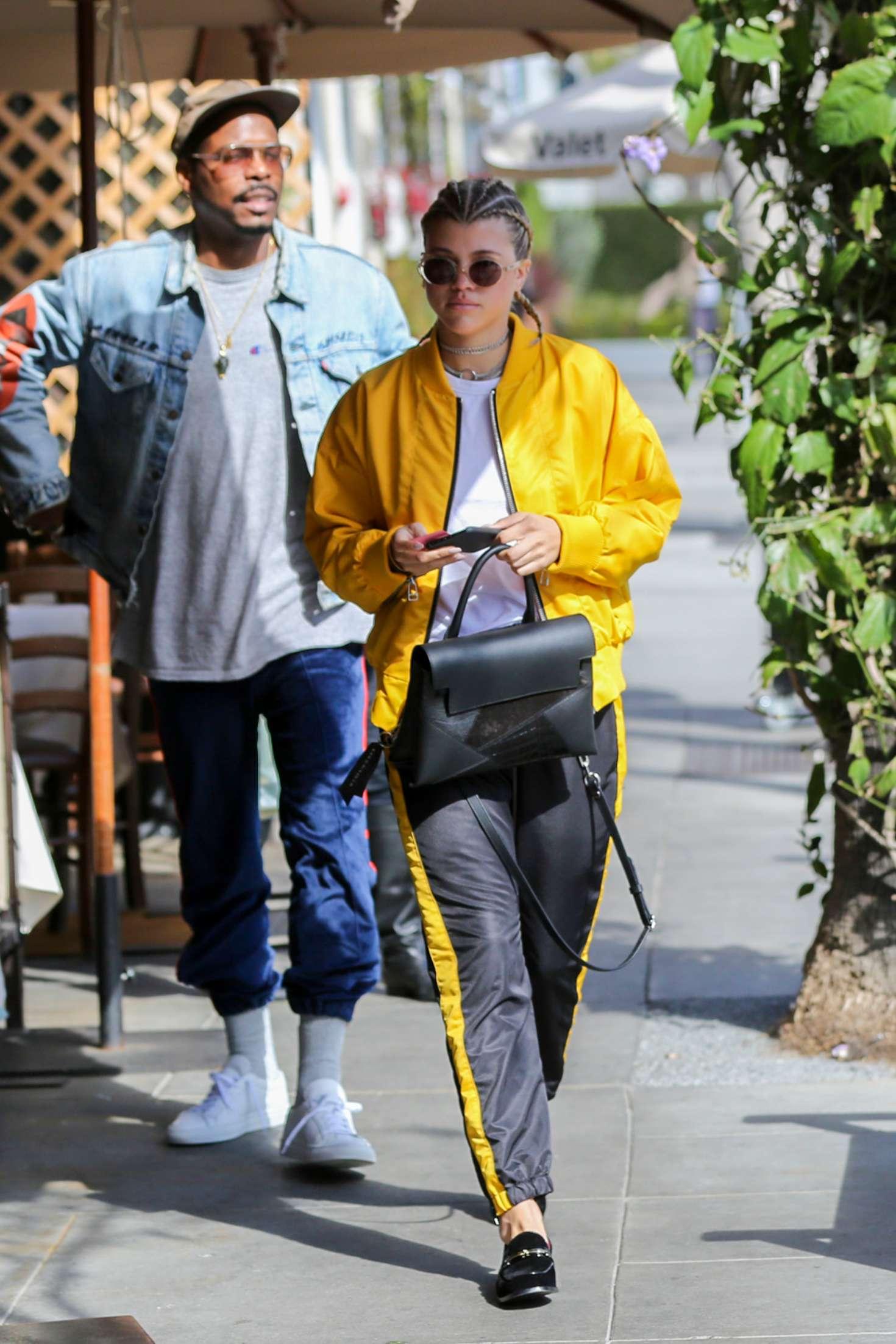 Sofia Richie 2017 : Sofia Richie at Il Pastaio in Beverly Hills -02