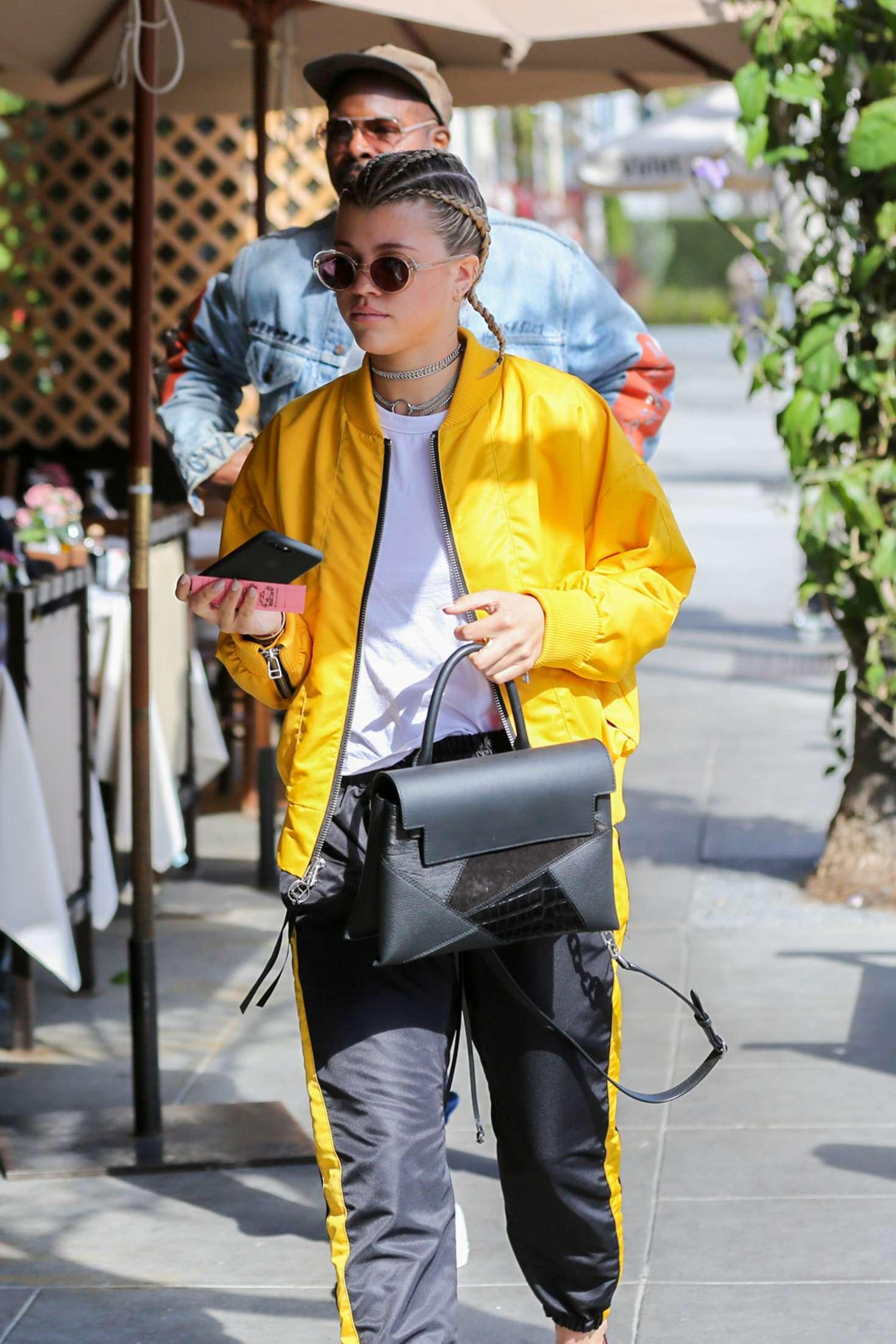 Sofia Richie 2017 : Sofia Richie at Il Pastaio in Beverly Hills -03