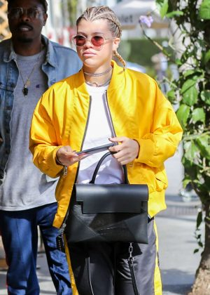 Sofia Richie at Il Pastaio in Beverly Hills
