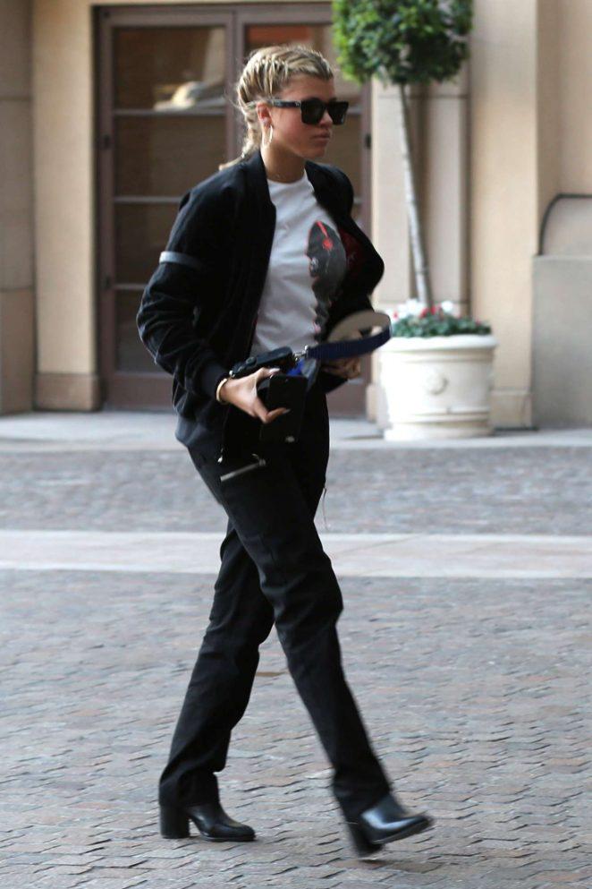 Sofia Richie at Sugarfish in Beverly Hills