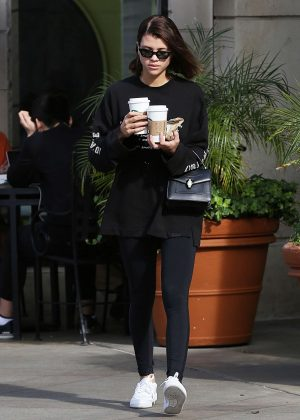 dec538a08f Sofia Richie  Grabs coffee from Starbucks -11 – GotCeleb