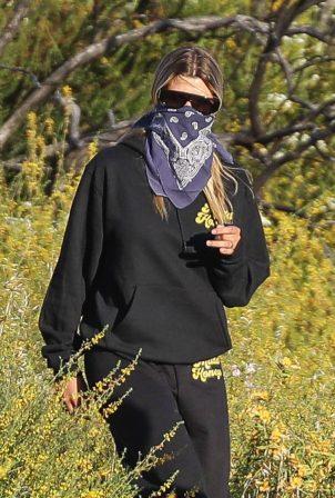 Sofia Richie - Hiking in Malibu