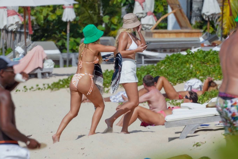 Sofia Richie 2021 : Sofia Richie – In bikini with new boyfriend Elliot Grainge in St Barts-03