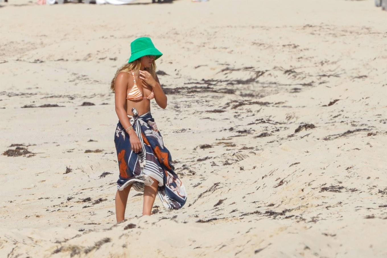 Sofia Richie 2021 : Sofia Richie – In bikini with new boyfriend Elliot Grainge in St Barts-06