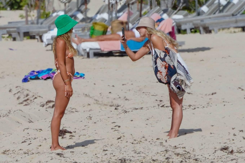 Sofia Richie 2021 : Sofia Richie – In bikini with new boyfriend Elliot Grainge in St Barts-10