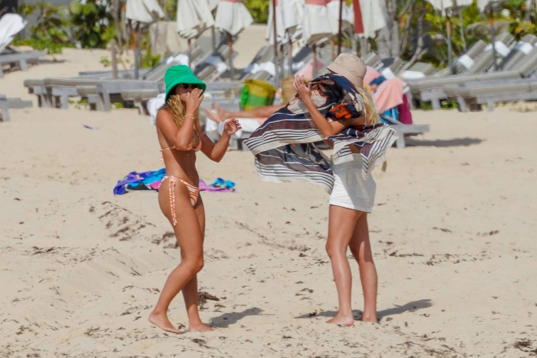 Sofia Richie 2021 : Sofia Richie – In bikini with new boyfriend Elliot Grainge in St Barts-15
