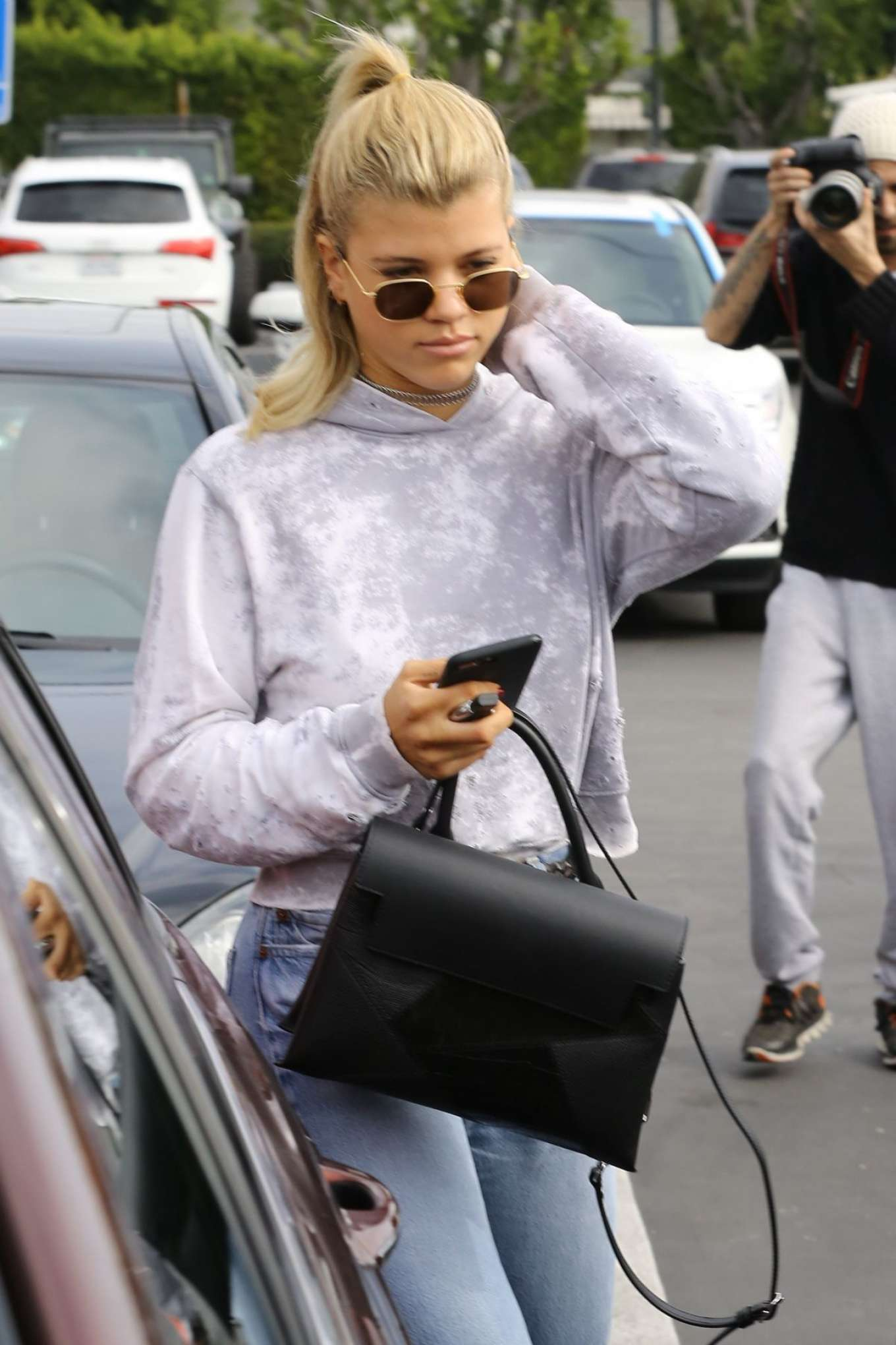 Sofia Richie 2017 : Sofia Richie in Jeans Out in Los Angeles -07