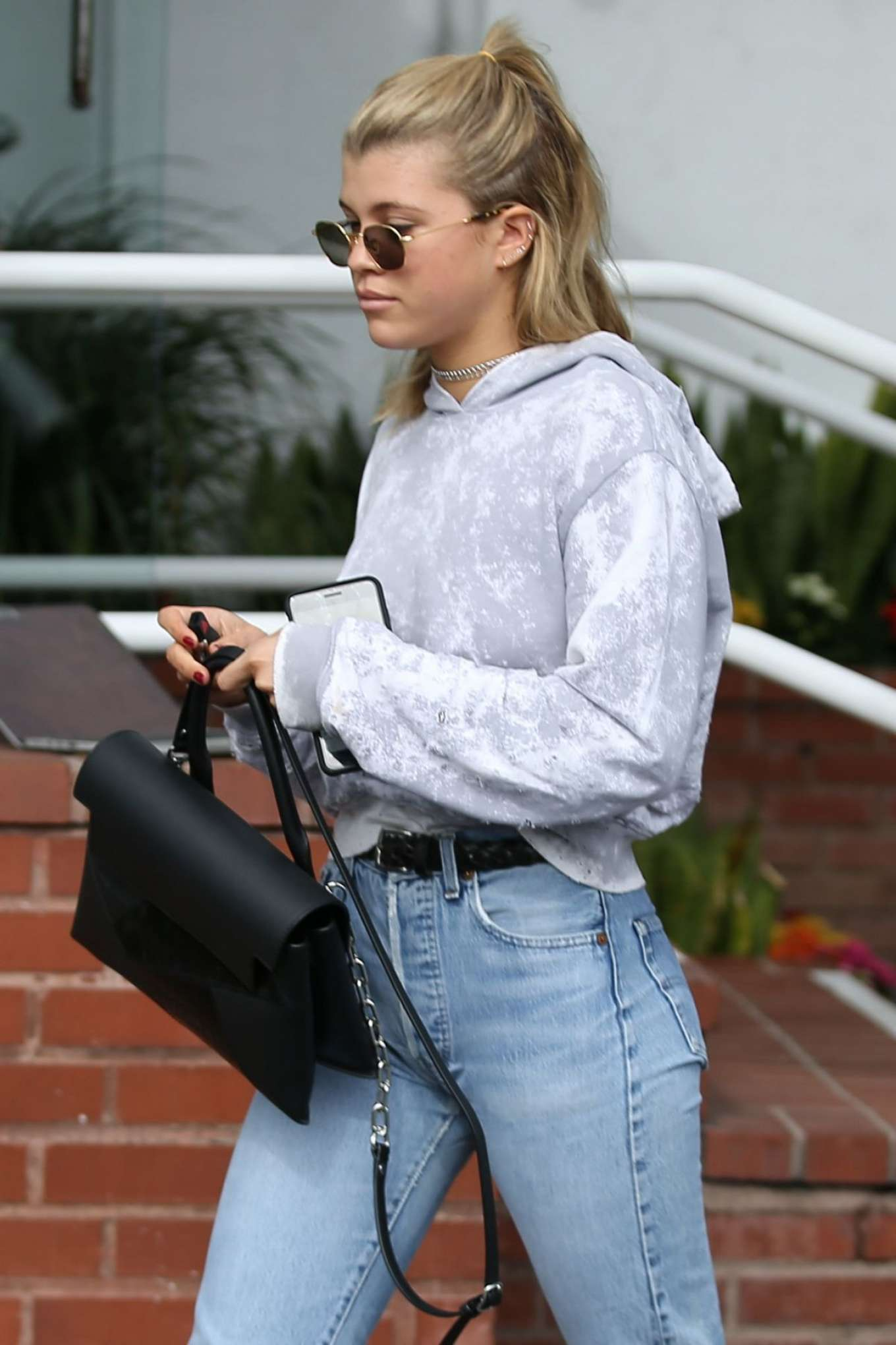 Sofia Richie 2017 : Sofia Richie in Jeans Out in Los Angeles -08