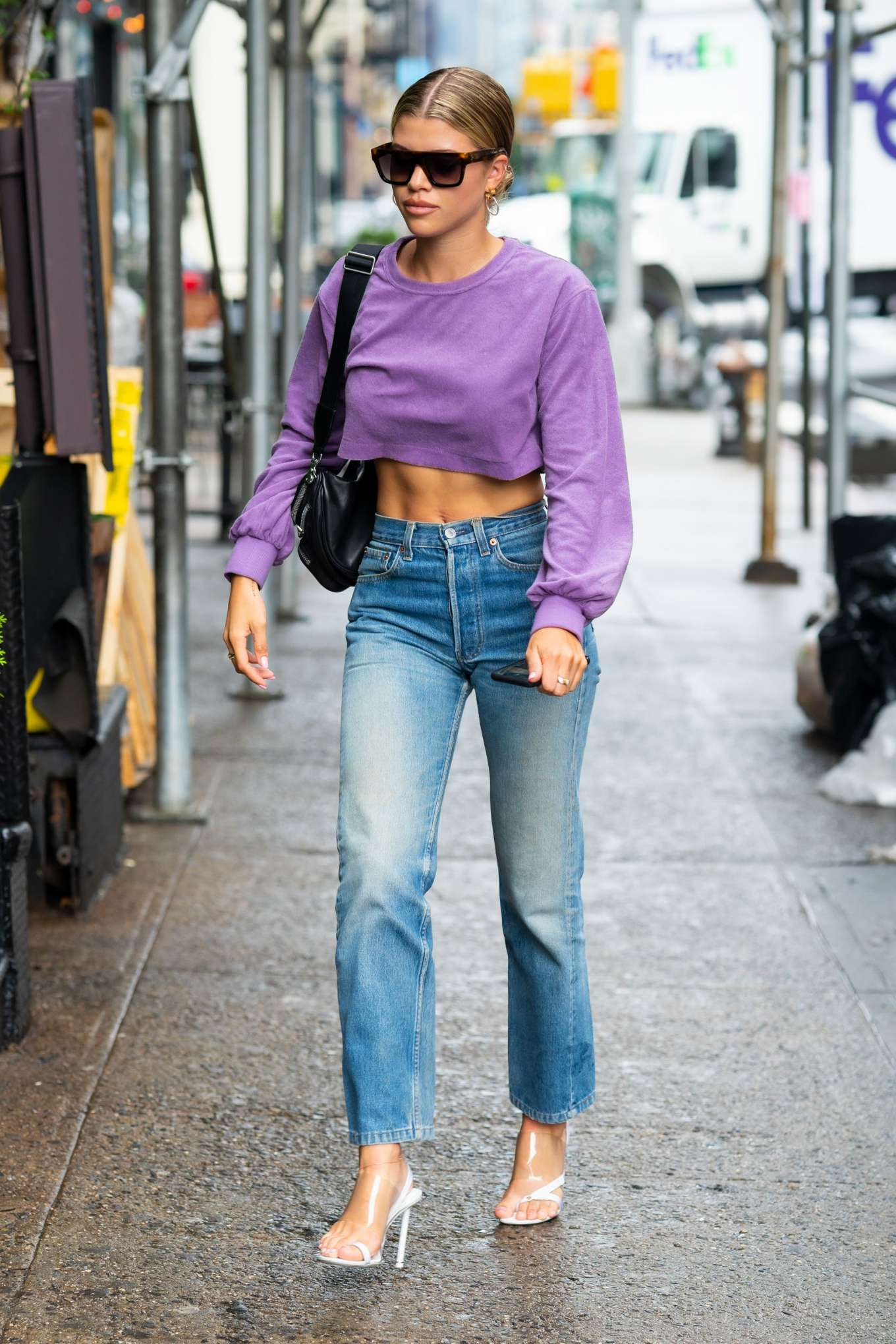Sofia Richie 2019 : Sofia Richie in Jeans: Out in NYC-01