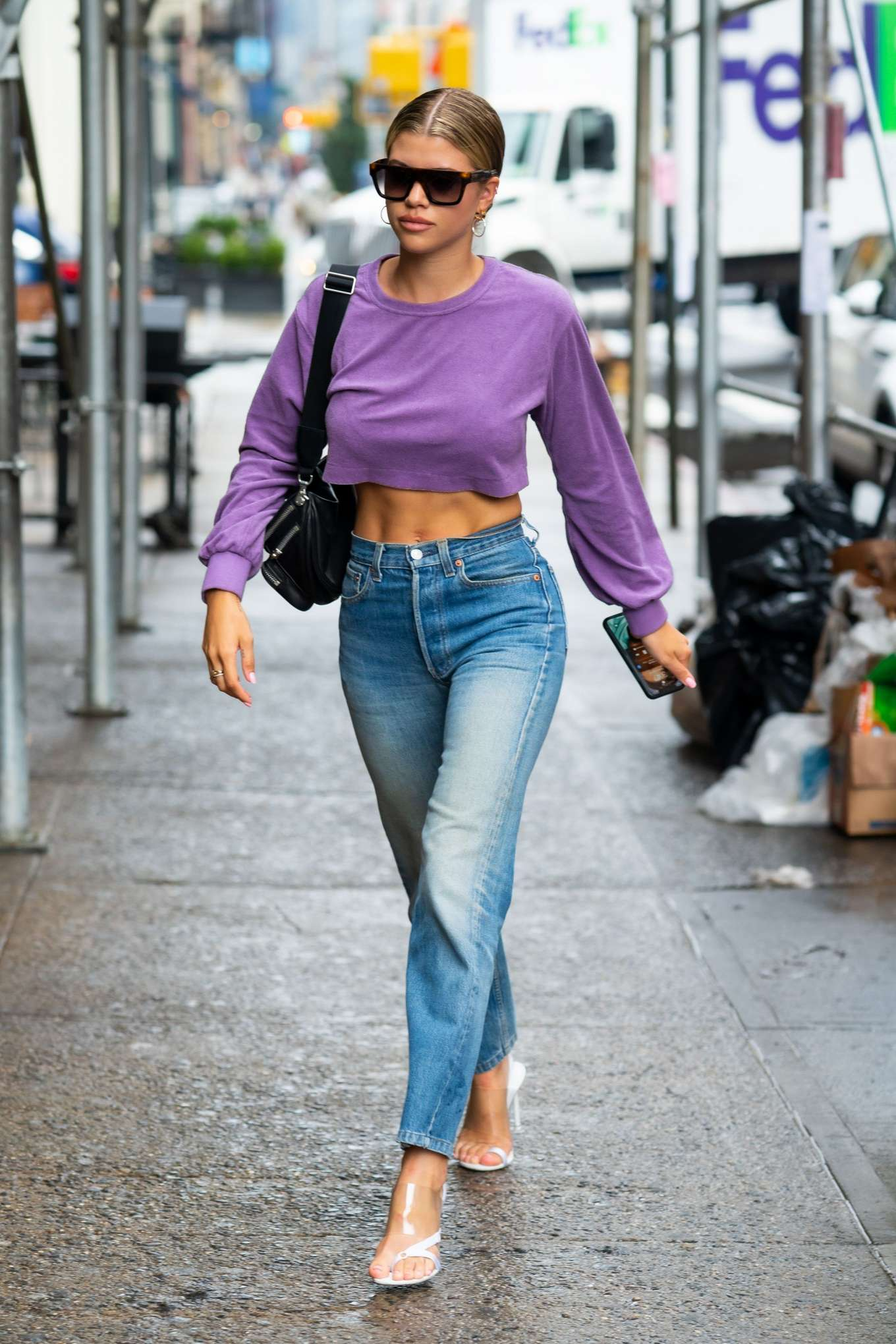 Sofia Richie 2019 : Sofia Richie in Jeans: Out in NYC-04