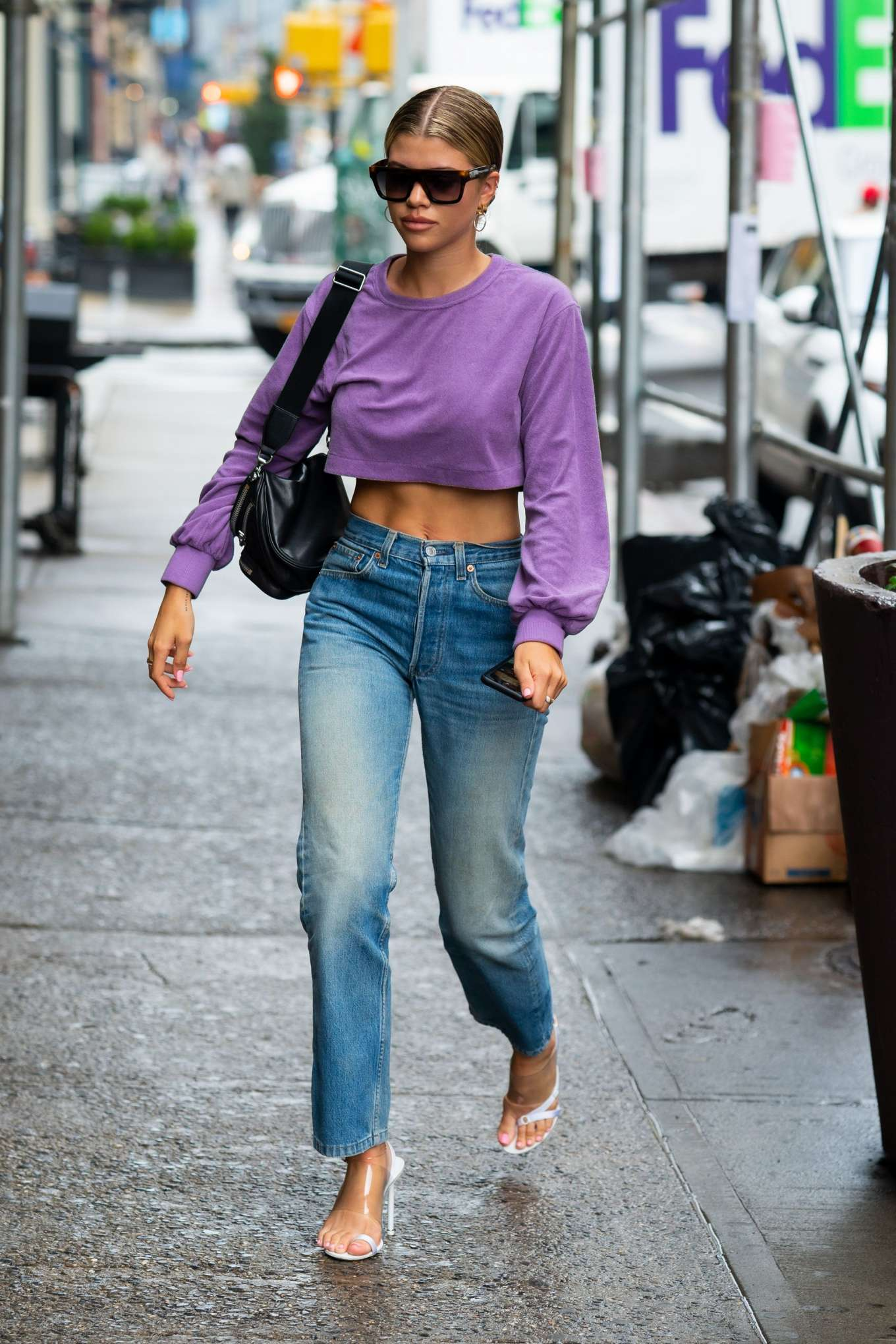 Sofia Richie 2019 : Sofia Richie in Jeans: Out in NYC-05