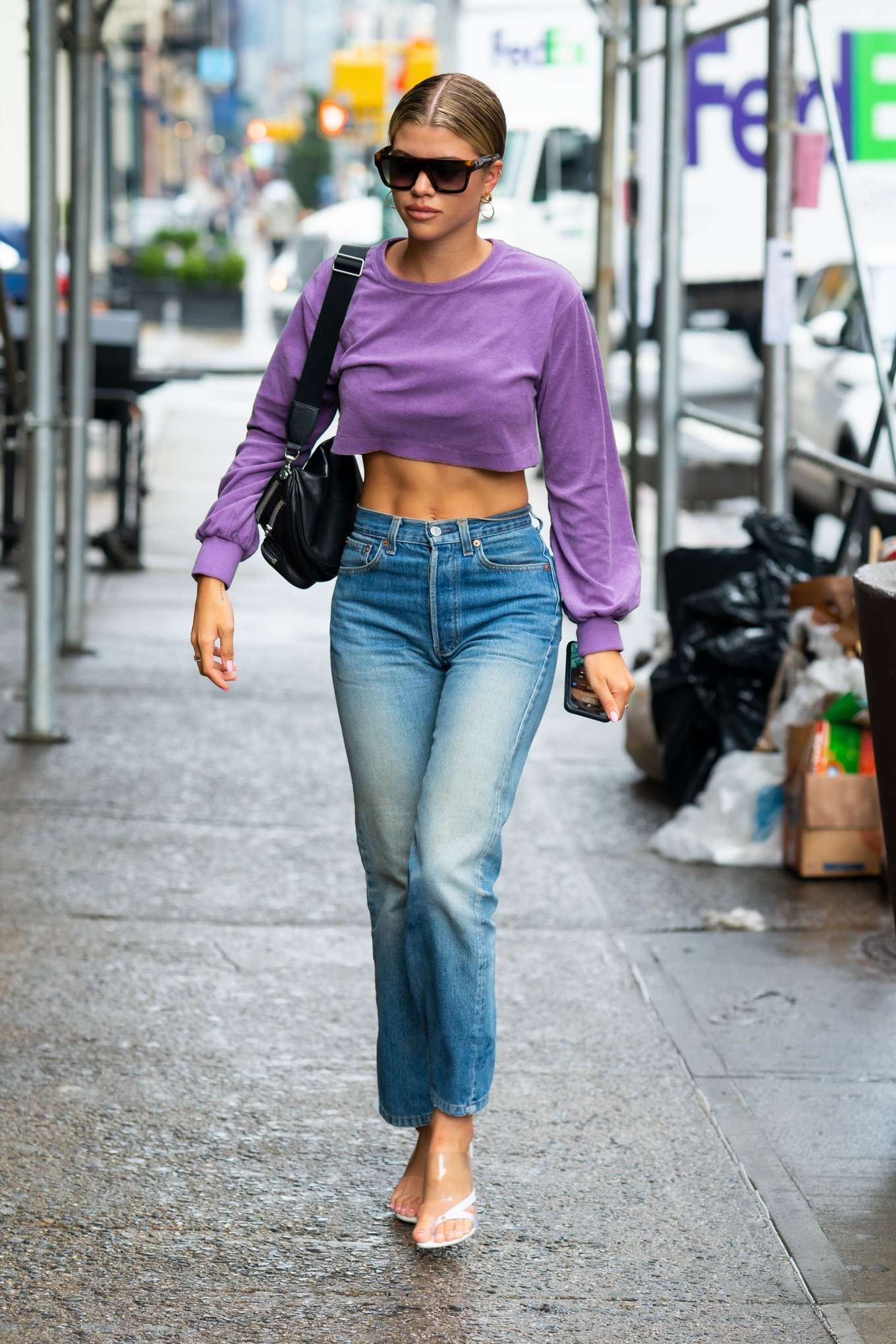 Sofia Richie 2019 : Sofia Richie in Jeans: Out in NYC-09