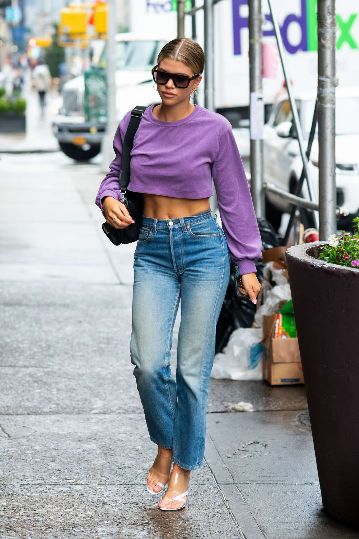 Sofia Richie 2019 : Sofia Richie in Jeans: Out in NYC-10