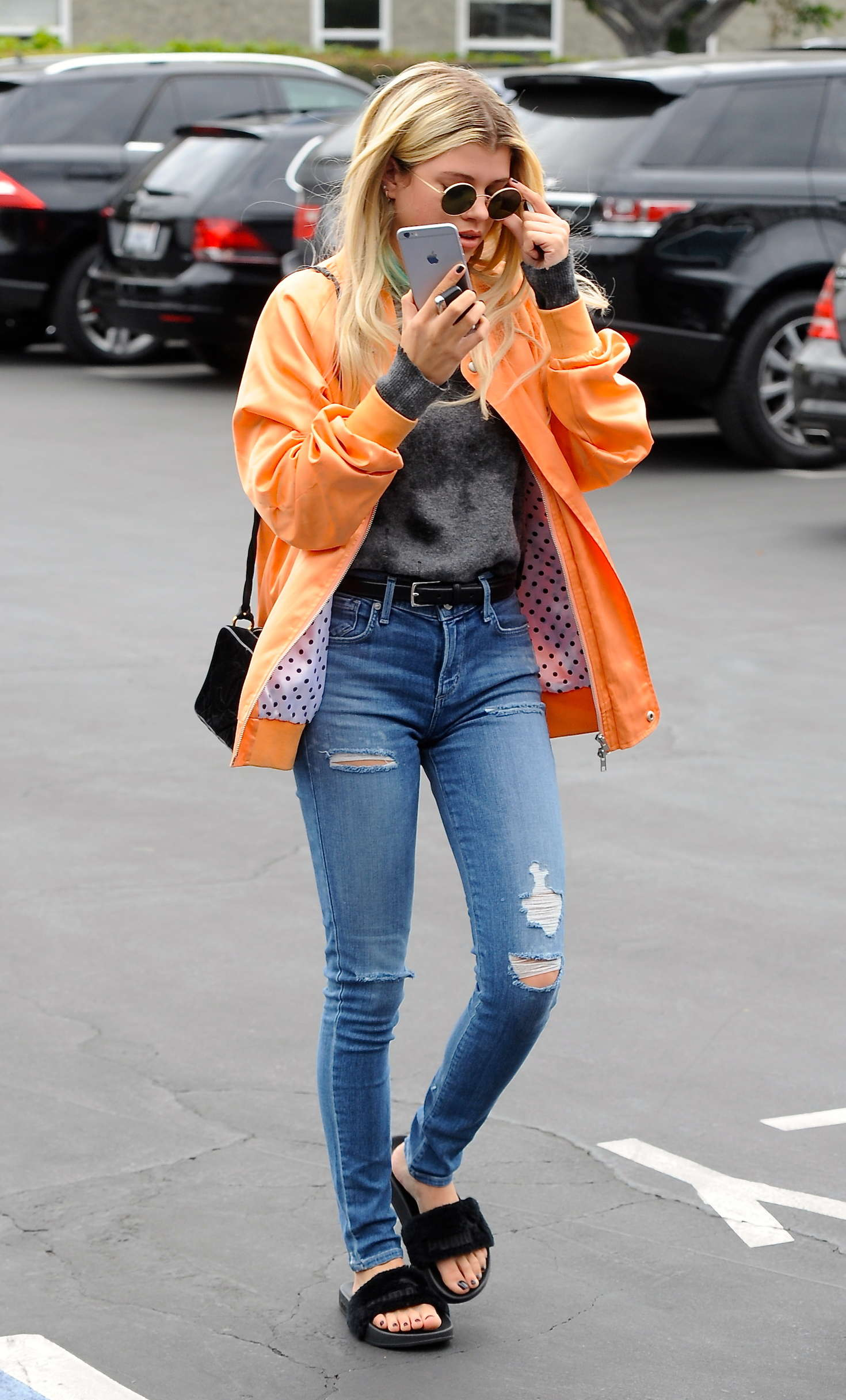 Sofia Richie in Tight Jeans at Fred Segal in West Hollywood