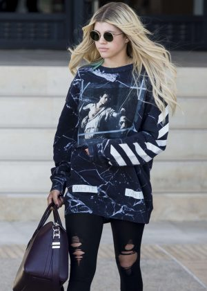 Sofia Richie - Leaves Barneys New York in LA