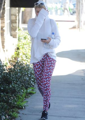 Sofia Richie - Leaves her workout in Beverly Hills