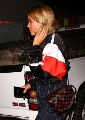 Sofia Richie - Leaves LL Pastio in Los Angeles