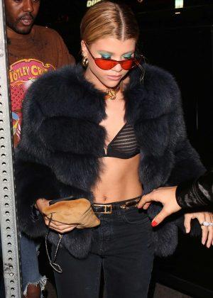 Sofia Richie - Leaves Matsuhisa in Beverly Hills