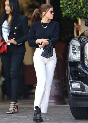 Sofia Richie - Leaves Montage Hotel in Beverly Hills