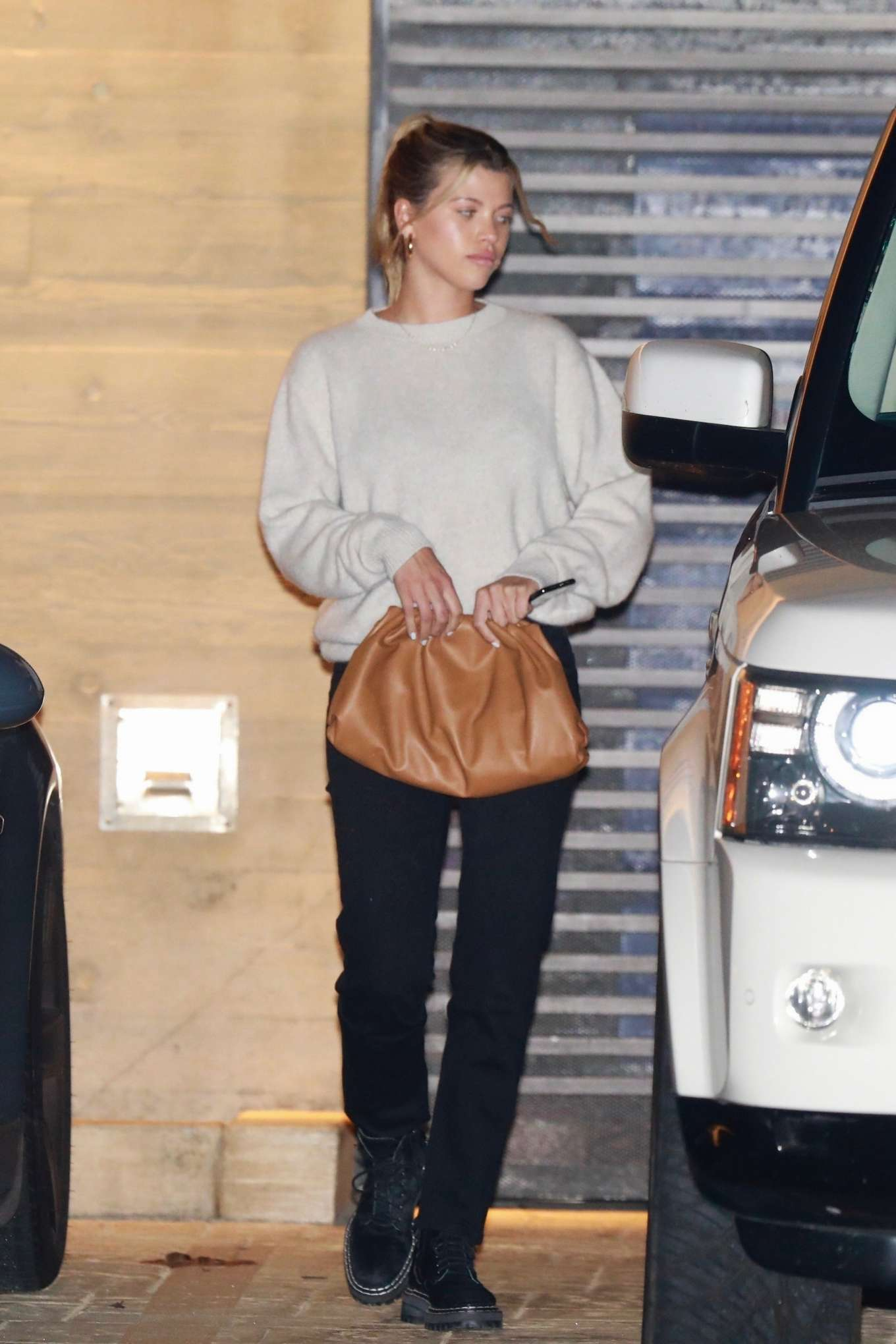 Sofia Richie - Leaves Nobu in Malibu
