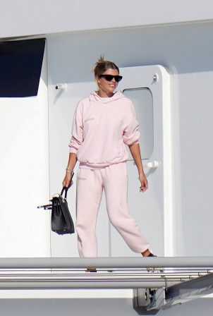 Sofia Richie - Leaves St Barts after enjoying Christmas on the paradise island
